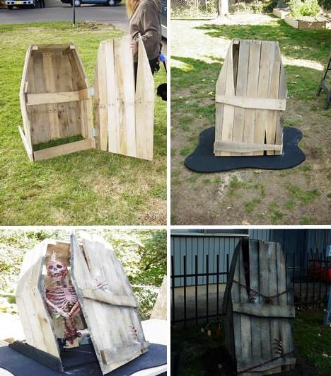 Мебель для дачи своими руками - поделки из поддонов (9)