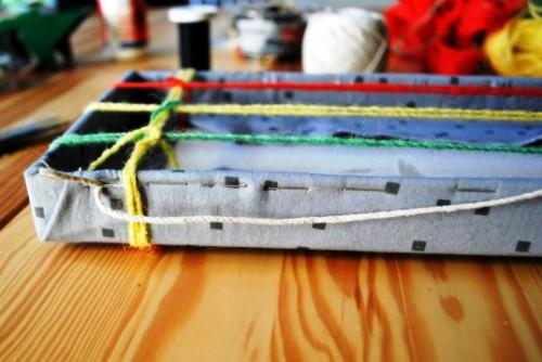 Подставка для сережек - держатель своими руками (9)