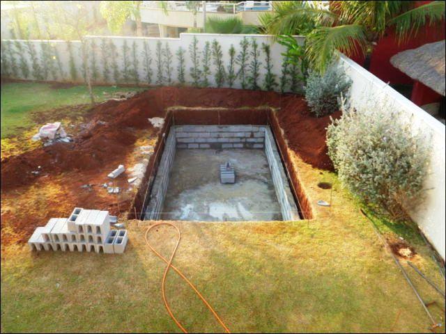 Построить бассейн своими руками