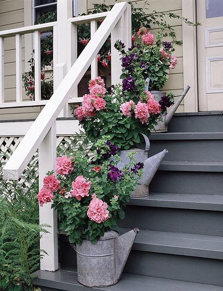 Вазоны фото - вазоны для цветов своими руками (9)