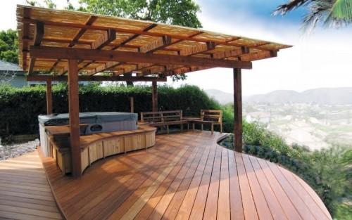 Дизайн дворика - сделать патио (8)