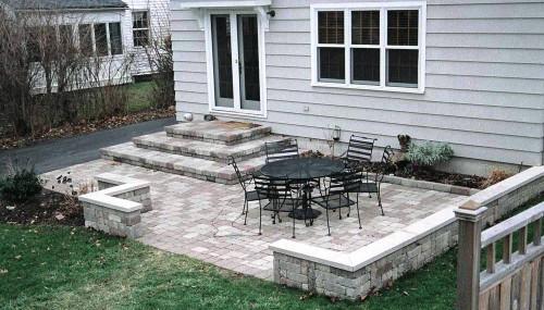 Дизайн дворика - сделать патио (9)