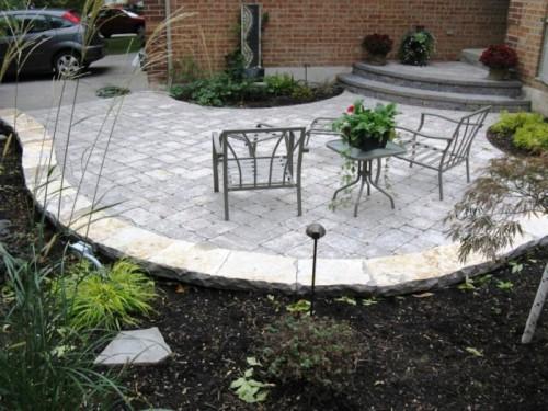 Дизайн дворика - сделать патио (11)