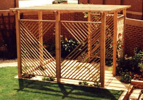 Дизайн дворика - сделать патио (22)