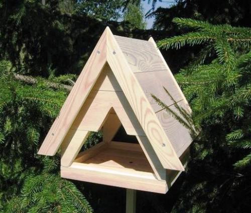 Как сделать кормушку для птиц своими руками - идеи (7)