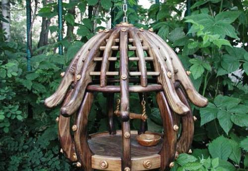 Как сделать кормушку для птиц своими руками - идеи (14)