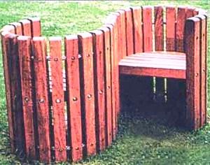 Мебель для дачи своими руками из подручного