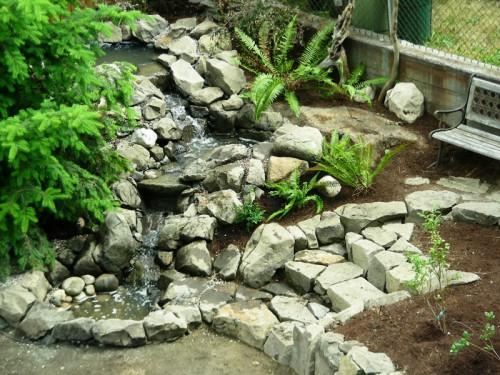 Клумбы из камней (2)