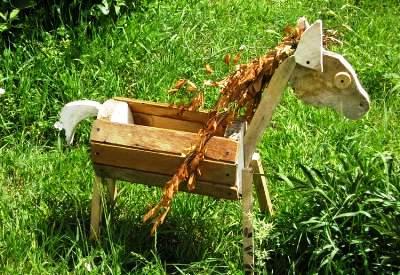 Деревянная лошадка - как сделать (1)