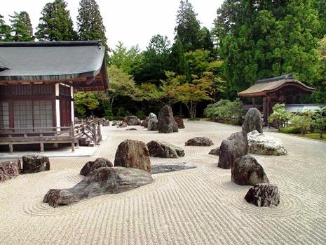 Японский сад камней - фото японского сада (2)