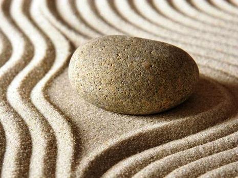 Японский сад камней - фото японского сада (6)