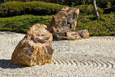 Японский сад камней - фото японского сада (7)