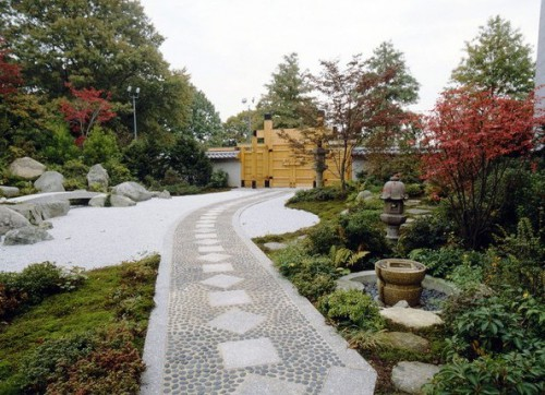 Японский сад камней - фото японского сада (9)