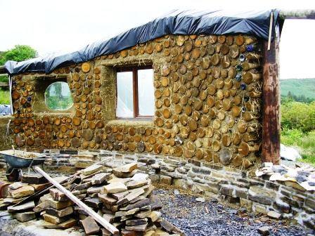 Дома из самана - эльфийские и хоббичьи постройки - фото (4)