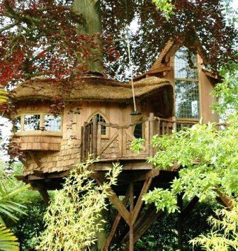 Дома из самана - эльфийские и хоббичьи постройки - фото (6)