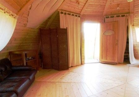 Дома из самана - эльфийские и хоббичьи постройки - фото (10)