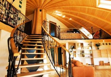 Дома из самана - эльфийские и хоббичьи постройки - фото (11)