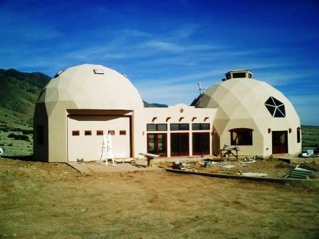 Дома из самана - эльфийские и хоббичьи постройки - фото (13)