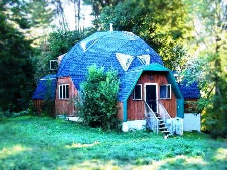 Дома из самана - эльфийские и хоббичьи постройки - фото (16)