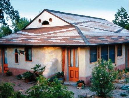 Дома из самана - эльфийские и хоббичьи постройки - фото (18)