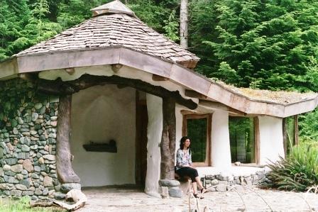Дома из самана - эльфийские и хоббичьи постройки - фото (23)