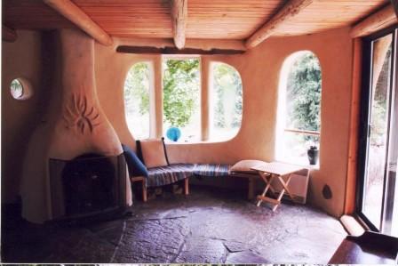Дома из самана - эльфийские и хоббичьи постройки - фото (24)