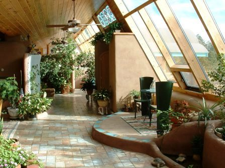 Дома из самана - эльфийские и хоббичьи постройки - фото (31)