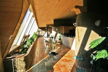 Дома из самана - эльфийские и хоббичьи постройки - фото (34)