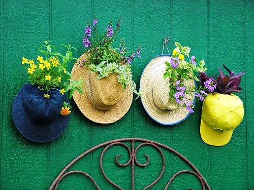 Как украсить шляпВсе для приусадебного участка своими