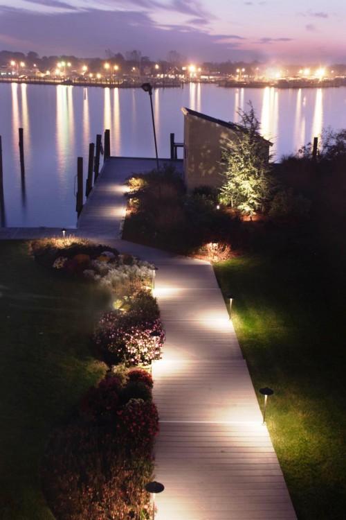Как сделать освещение - в саду - фото (1)