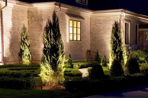 Как сделать освещение - в саду - фото (7)