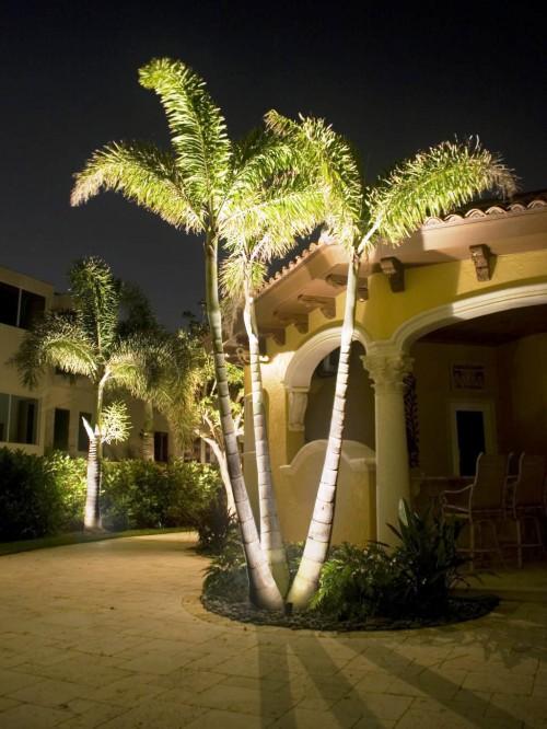 Как сделать освещение - в саду - фото (9)