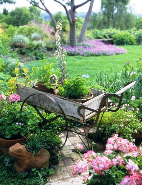 Оформление садов - винтажный стиль (1)