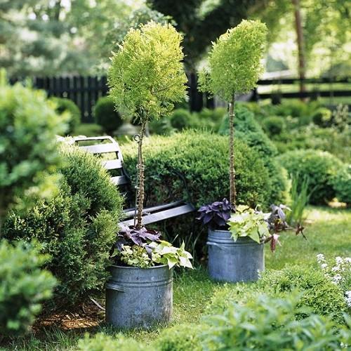 Оформление садов - винтажный стиль (8)