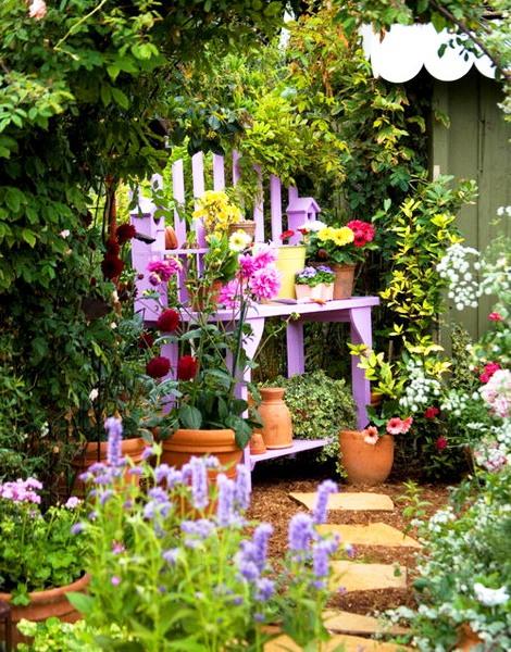 Оформление садов - винтажный стиль (13)