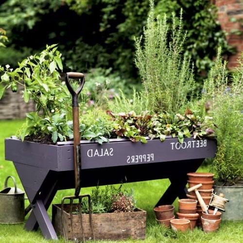 Оформление садов - винтажный стиль (25)