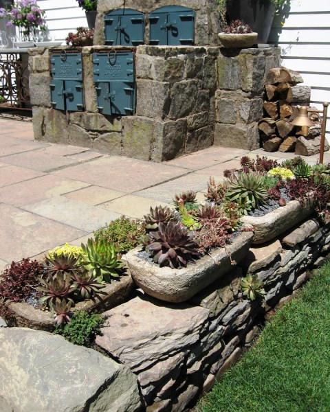 Оформление садов - винтажный стиль (28)