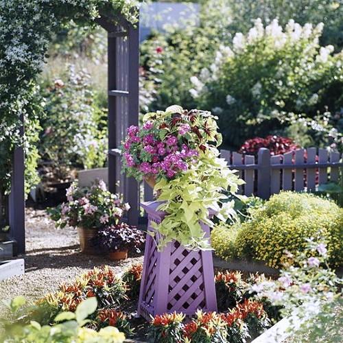 Оформление садов - винтажный стиль (34)