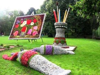 Топиарное искусство - виды растений и фото (19)