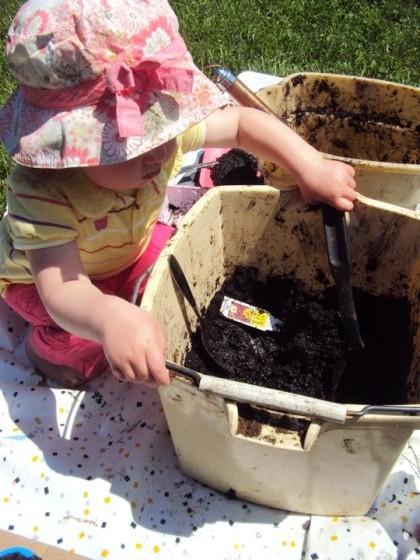 Фигуры из песка - или чем заняться с детьми (9)