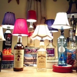 Лампа из бутылки (1)