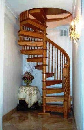Фото винтовых лестниц (11)