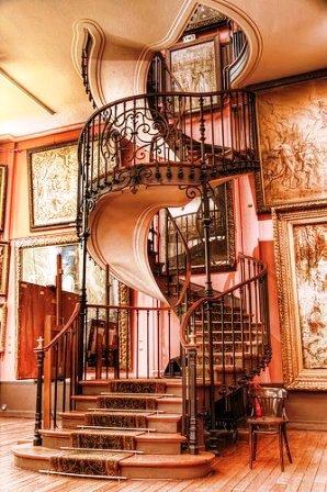 Фото винтовых лестниц (14)