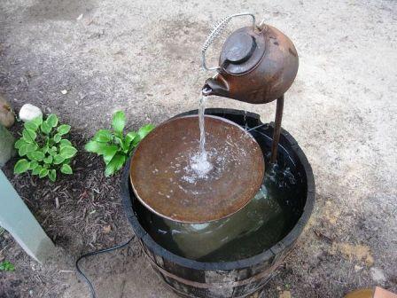 Как сделать фонтан (4)