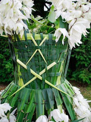 Одежда из растений для декора участка (5)