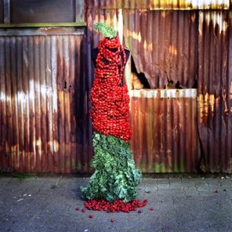 Одежда из растений для декора участка (7)