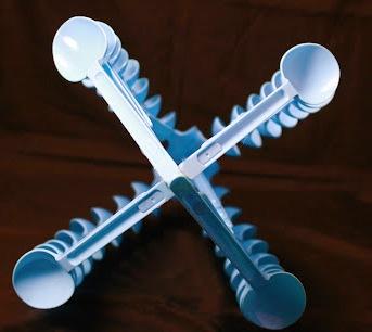 Поделки из пластмассовых вилок и ложек (4)