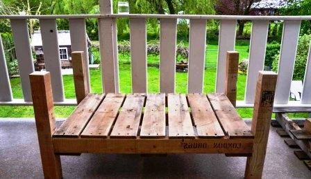 Как сделать деревянный стул (4)