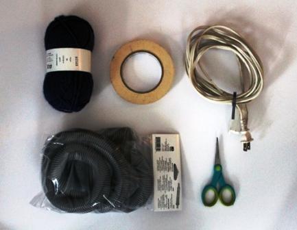 Как спрятать шнур (4)