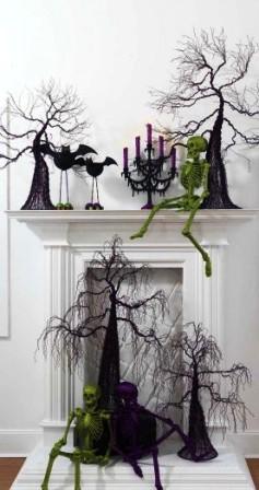 Украшения дома на Хэллоуин (2)